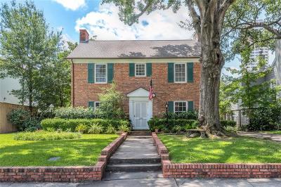 River Oaks Single Family Home For Sale: 2505 Pelham Drive