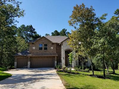 Conroe Single Family Home For Sale: 8011 Bay Bend Drive