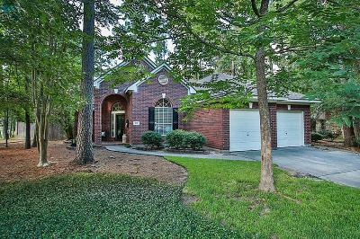 The Woodlands Single Family Home For Sale: 102 N Lace Arbor Drive