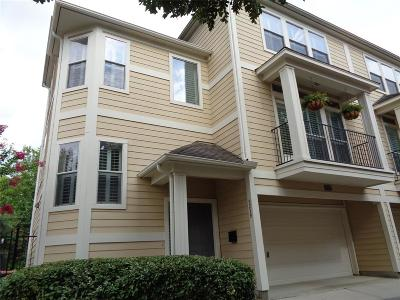 Houston Condo/Townhouse For Sale: 5239 Schuler Street #C