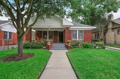 Houston Single Family Home Option Pending: 931 Pecore Street