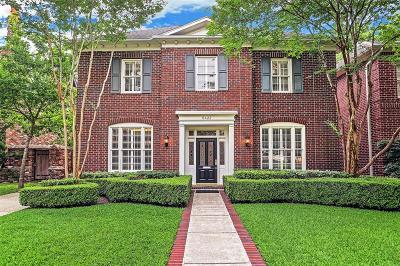 West University Place Single Family Home For Sale: 6422 Sewanee Avenue