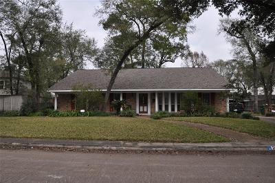 Houston Single Family Home For Sale: 2406 Blue Water Lane
