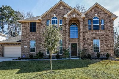 Conroe Single Family Home For Sale: 7 Stone Creek Drive