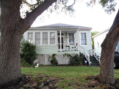 Galveston Single Family Home For Sale: 3412 Avenue O 1/2 Avenue