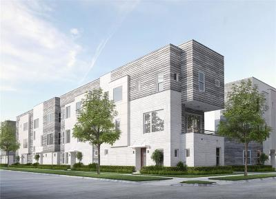 Houston Condo/Townhouse For Sale: 820 Nagle Street