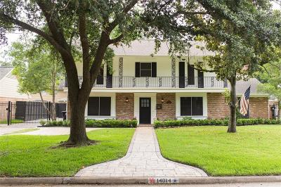 Houston Single Family Home For Sale: 14014 Taylorcrest Road