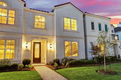 Harris County Condo/Townhouse For Sale: 13616 Teal Bluff Lane