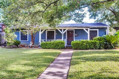Bellaire Single Family Home For Sale: 5007 Chestnut Street