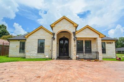 Houston Single Family Home For Sale: 5047 W Bellfort Street