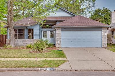 Houston Single Family Home For Sale: 8519 Sparkling Springs Drive