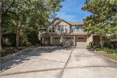 The Woodlands Condo/Townhouse For Sale: 52 Stone Creek Place