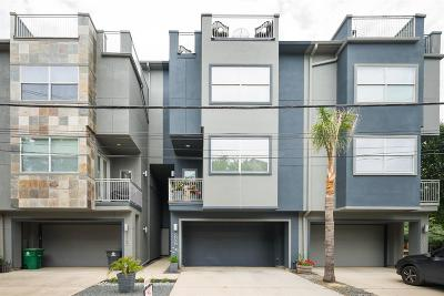 Houston Condo/Townhouse For Sale: 5802 Maxie Street #B