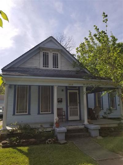 Houston Single Family Home For Sale: 1515 Rutland Street