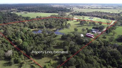 Waller Farm & Ranch For Sale: 29763 Jeff Smith Road
