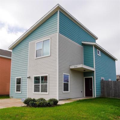 Houston Single Family Home For Sale: 4343 Cetti Street