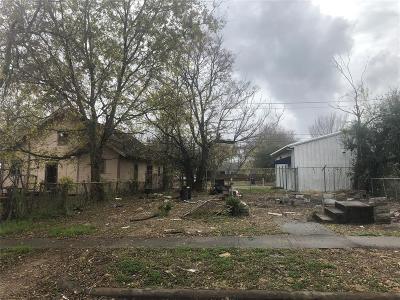 Houston Residential Lots & Land For Sale: 3352 Sanders Street