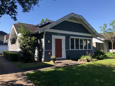 Houston Single Family Home For Sale: 1507 Kipling Street
