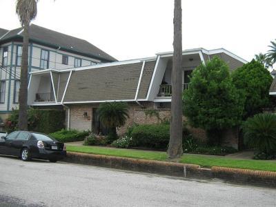Galveston Condo/Townhouse For Sale: 1726 Broadway Street #11
