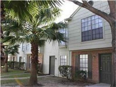 Houston Condo/Townhouse For Sale: 8653 Village Of Fondren Drive #8653