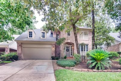 The Woodlands Single Family Home For Sale: 57 N Peaceful Canyon Circle