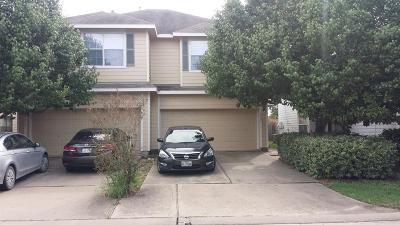 Houston Condo/Townhouse For Sale: 6051 Shelbourne Park Lane