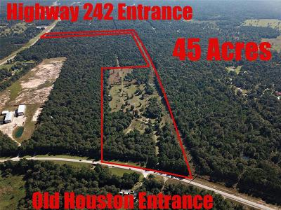 Conroe Residential Lots & Land For Sale: 16621 Old Houston Road