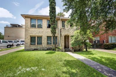 Houston Multi Family Home For Sale: 1805 Sul Ross Street