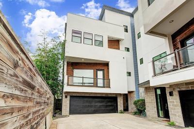 Houston Single Family Home For Sale: 6007 Tyne Street #A