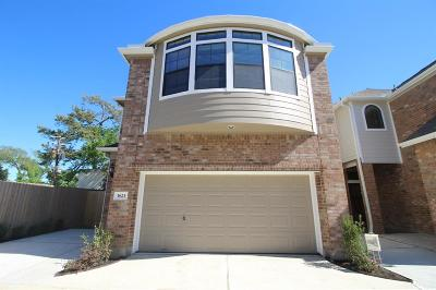 Houston Single Family Home For Sale: 1623 Johanna Drive