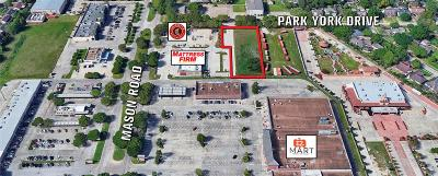 Katy Residential Lots & Land For Sale: Park York Drive