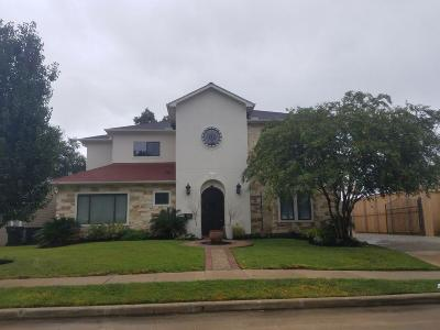 Houston TX Single Family Home For Sale: $1,050,000
