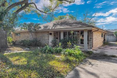 Houston TX Single Family Home For Sale: $380,000