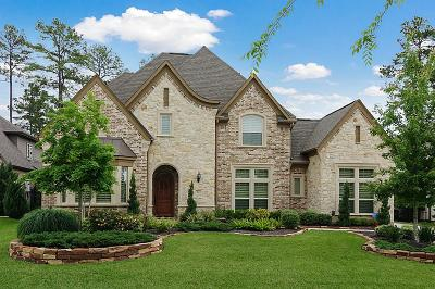 The Woodlands TX Single Family Home For Sale: $899,900