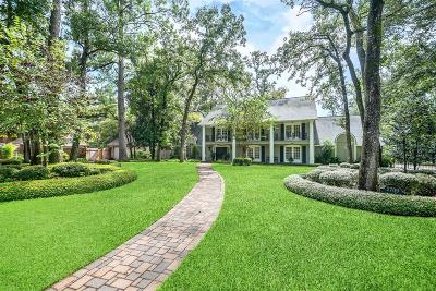 The Woodlands Single Family Home For Sale: 2709 S Wildwind Circle