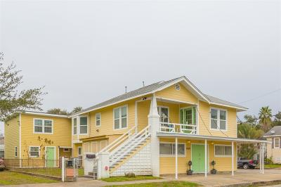 Galveston Single Family Home For Sale: 4902 Avenue Q