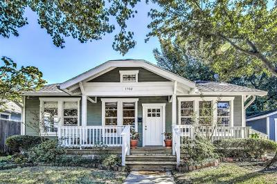 Houston Single Family Home For Sale: 3702 Watson Street