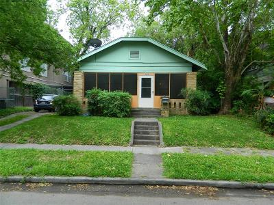 Houston Single Family Home For Sale: 1243 W Pierce Street