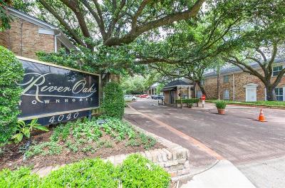 River Oaks Condo/Townhouse For Sale: 4040 San Felipe Street #143