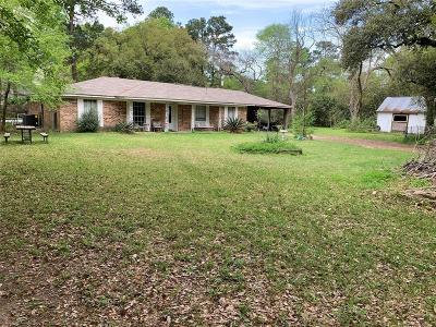 Spring Single Family Home For Sale: 6001 Levi Road