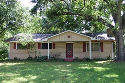 Conroe Single Family Home For Sale: 15335 Lake Lamond Road