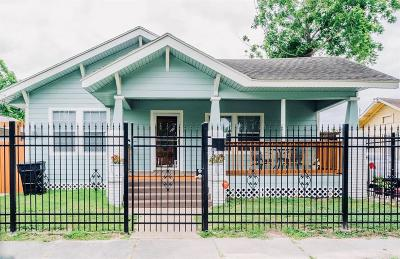 Houston Single Family Home For Sale: 110 Jenkins Street