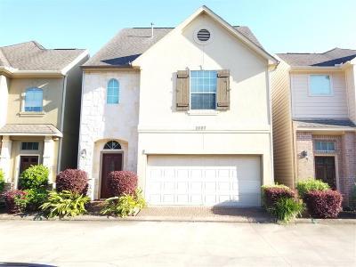Houston Single Family Home For Sale: 2607 Capewalk Drive