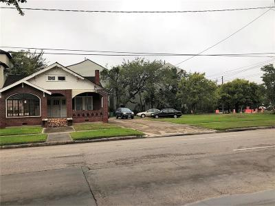 Houston Residential Lots & Land For Sale: 3212 Crawford Street
