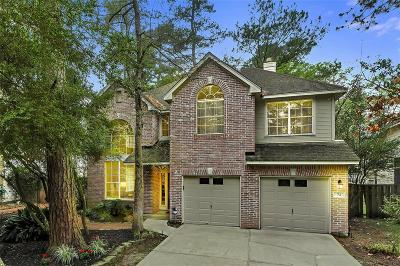The Woodlands Single Family Home For Sale: 73 S Bethany Bend Circle