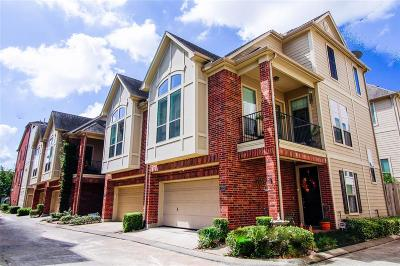 Houston Condo/Townhouse For Sale: 2318 Bastrop Street