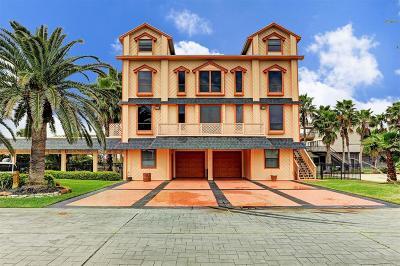 Tiki Island Single Family Home For Sale: 219 Catamaran Drive