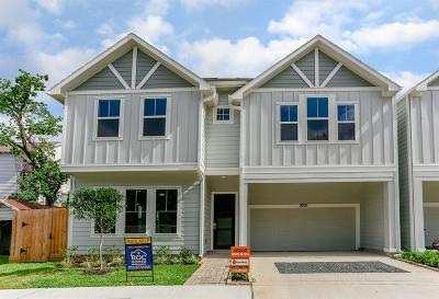 Houston Single Family Home For Sale: 1124 Live Oak Street