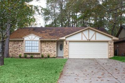The Woodlands Single Family Home For Sale: 75 Fallshire Drive