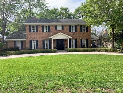 Houston Single Family Home For Sale: 615 Ramblewood Road